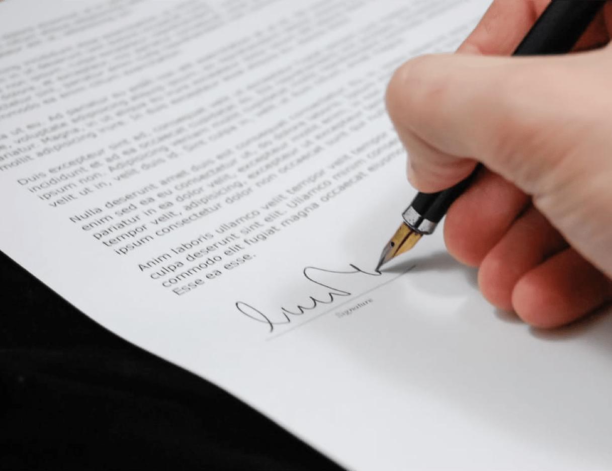 ניסוח הסכם גירושין